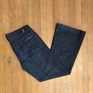 7 For All Mankind Dojo Crystal Mercer Jeans